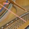 弦、ピン磨き
